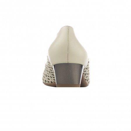 Туфли Женские 2038236 натуральная кожа, цвет: серо